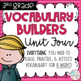 Third Grade Vocabulary Builders Unit 4