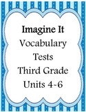 Third Grade Vocabulary Tests Units 4 - 6 Part 2