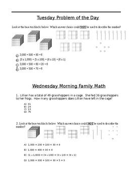 Third Grade Week 3 POD
