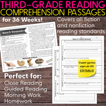Scope And Sequence Reading Comprehension Worksheets