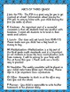 Third Grade Welcome Packet- Back to School-EDITABLE