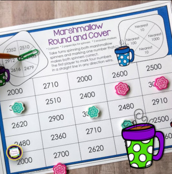 Third Grade Winter Math Games