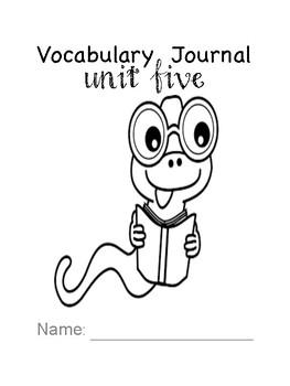 Third Grade Wonders Interactive Notebook: Unit Five