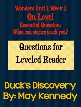 Third Grade Wonders Leveled Reader On Level