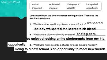 Third Grade Wonders PowerPoint Unit 2, Week 2