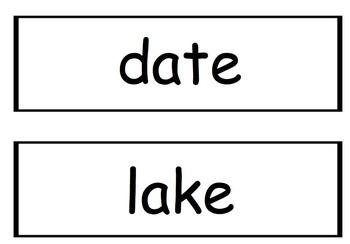 Third Grade Wonders Spelling Words - Unit 1, Lessons 2-5