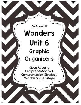 Third Grade Wonders UNIT 6 Close Reading Graphic Organizers