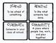 Third Grade Wonders Vocabulary Cards - Unit 1