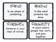 Third Grade Wonders Vocabulary Cards - Unit 1