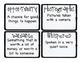 Third Grade Wonders Vocabulary Cards - Unit 2