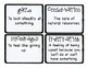 Third Grade Wonders Vocabulary Cards - Unit 5