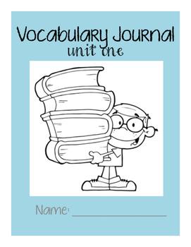 Third Grade Wonders Vocabulary Interactive Notebook: Unit One