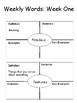 Third Grade Wonders Vocabulary Interactive Notebook: Unit Three