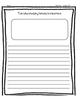 Third Grade Wonders Writing - Unit 3