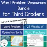 Third Grade Word Problem Resource Bundle