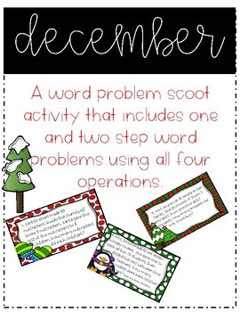 Third Grade Word Problems Packet