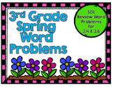 Third Grade Word Problems-Spring