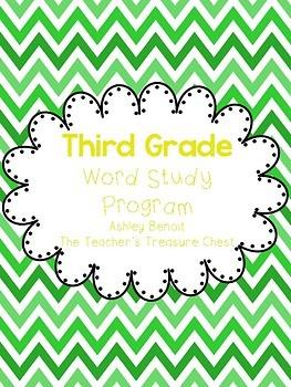Third Grade Word Study Intervention Program