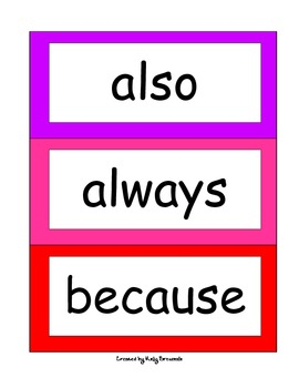 Third Grade Word Wall