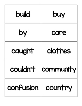Third Grade Word Wall Words By Amanda Stevens Teachers Pay Teachers