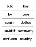 Third Grade Word Wall Words