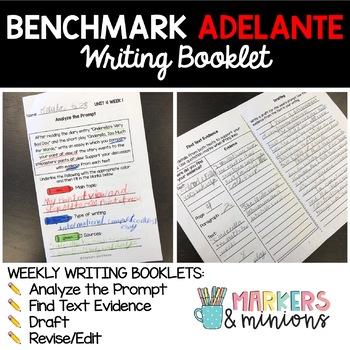 Third Grade Writing Booklet (Benchmark Adelante)