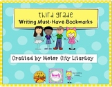 Third Grade Writing Bookmark