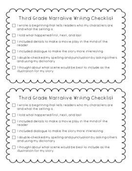 Third Grade Writing Bundle