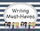 Third Grade Writing Posters FREEBIE