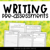 Writing Pre-Assessments