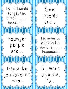 Third Grade Writing Prompts
