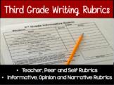 Third Grade Writing Rubrics