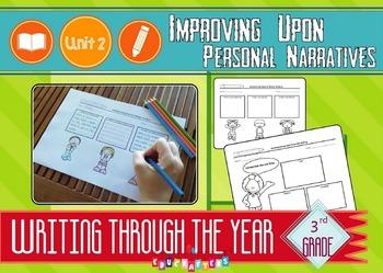 Third Grade Writing Unit of Study – Improving Upon Persona