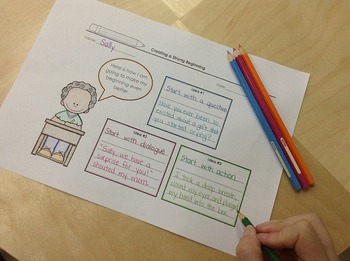 Third Grade Writing Unit of Study – Personal Narratives – for Writer's Workshop