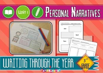 Third Grade Writing Unit of Study – Personal Narratives –