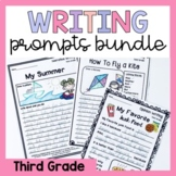 Third Grade Writing Worksheets Prompts Bundle - Opinion, N