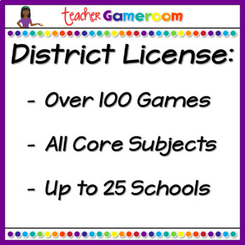 Third Grade Yearly District License