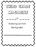 Third Grade end of the year Magazine Memory Book