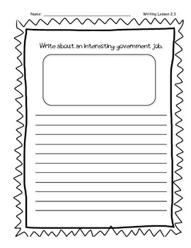 Third Graded Wonders Writing - Unit 2