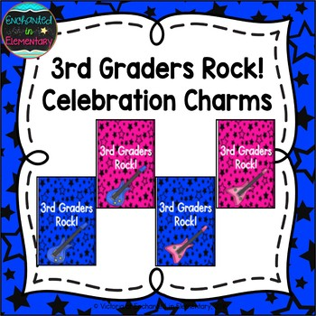 Third Graders Rock! Brag Tags