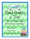 Third Grade's a Trip! {Back to School and Open House Packet}
