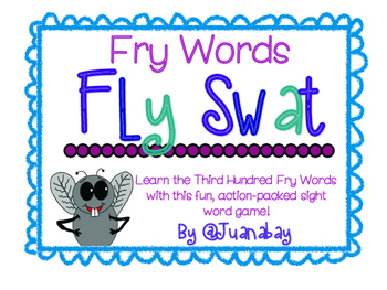 Third Hundred Fry Words Fly Swat Game