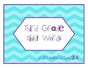 Third Hundred Sight Word Flashcards