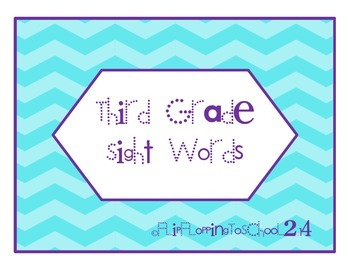 Third Hundred Sight Word Flashcards