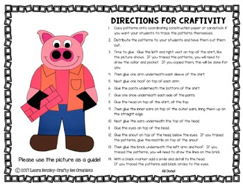 Third Little Pig Craft