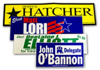 Third Party Bumper Sticker Project