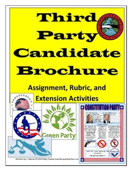 High School - Third Party Presidential Brochure