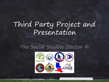 Third Party Project and Presentation
