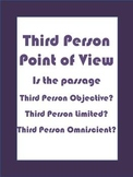 Third Person Point of View Practice