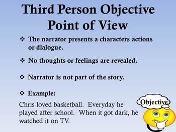 Third Person Point of View Presentation
